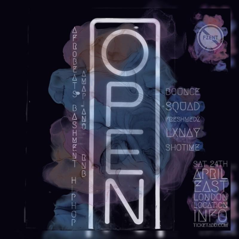 OPEN-24TH APRIL 2021